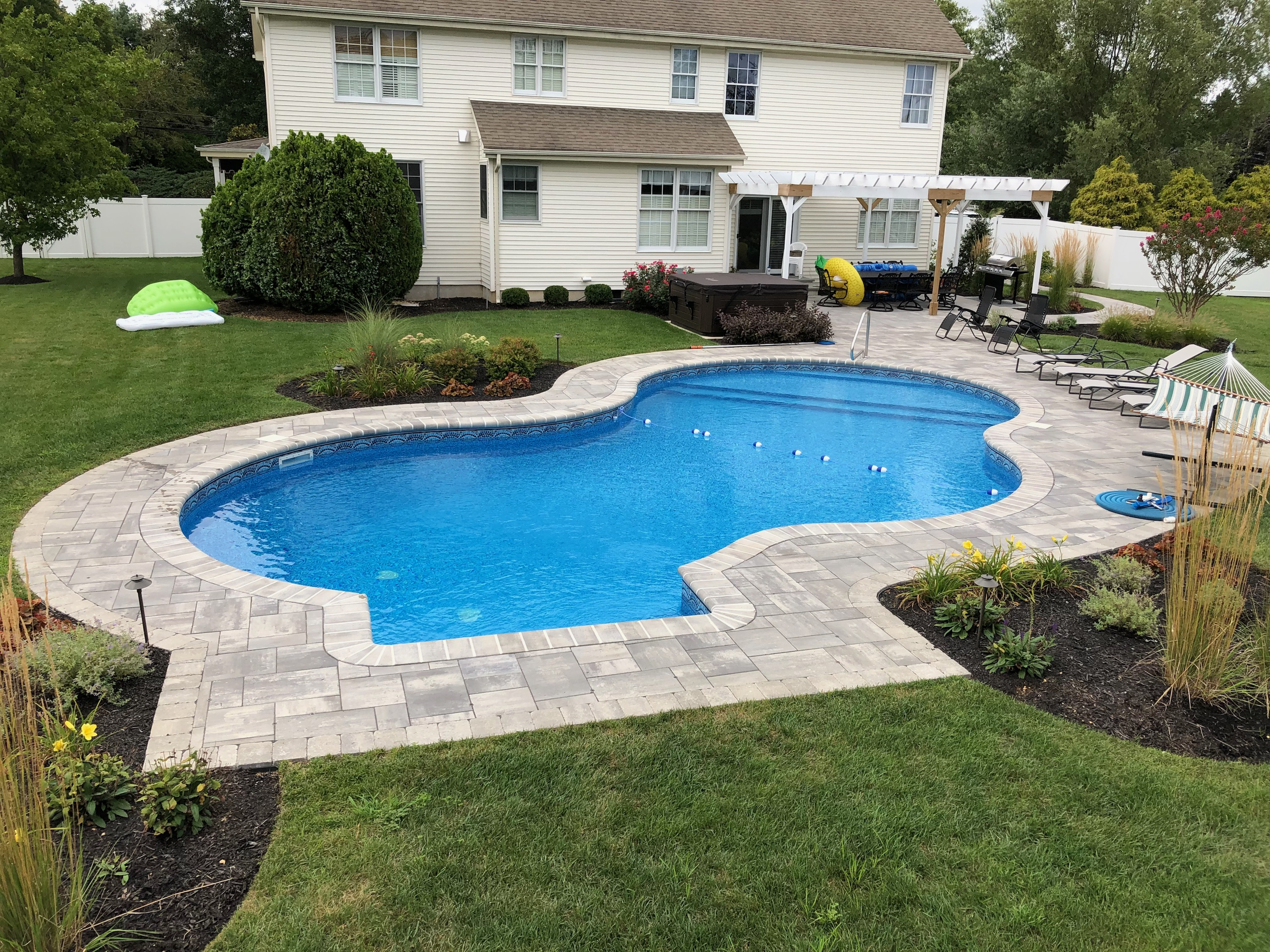 finished pools pool design examples offshore pools