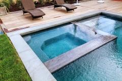 White-pool-spa